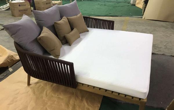 Bàn ghế gỗ teak - BGGT-0008