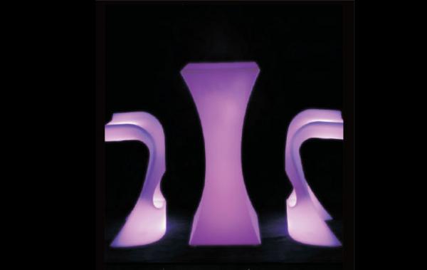 Bàn ghế Led - BGL-0002