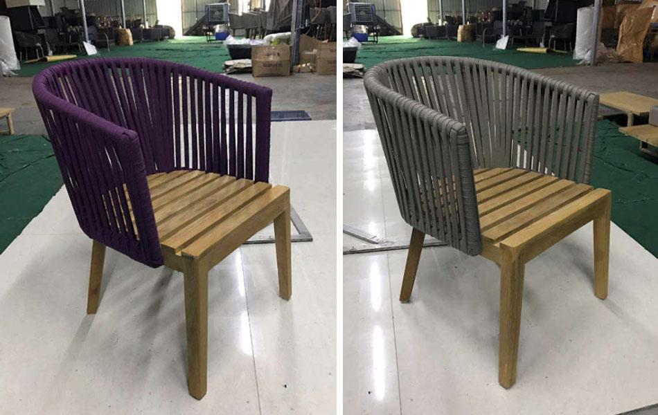 Bàn ghế gỗ teak - BGGT-0000